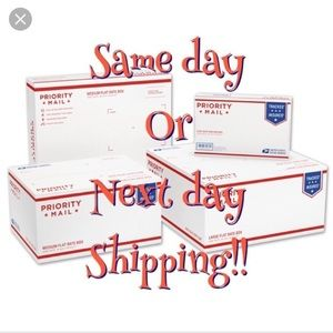 All orders ship by the next business day 👍👍👍👍